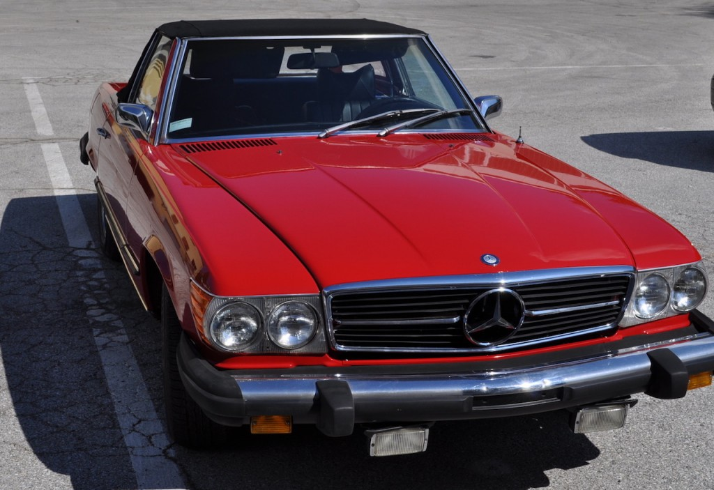 MERCEDES BENZ SL 450 V8