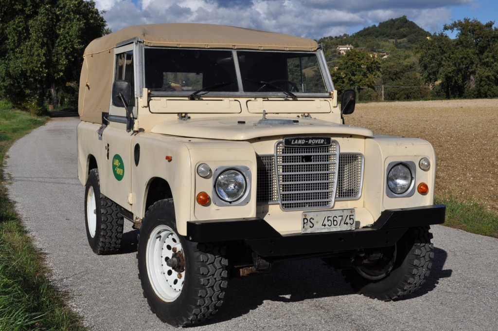 LAND ROVER 88 SERIE III - PICK UP 1976 TELONATA